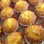 LEMON DRIZZLE MUFFIN